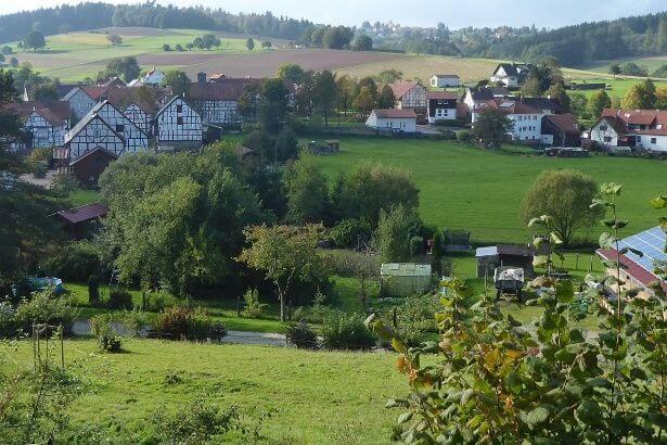 Blick über Appenfeld